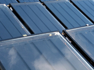 Solar Panel Closeup View