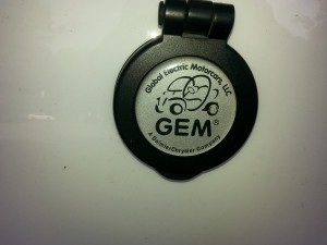 Gem Electric Car Connector Plug