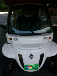 Gem Electric Car NC Parks